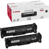 TWIN PACK BLACK CRG-718 2X3,4K ORIGINAL LBP 7200CDN