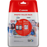 COMBO PACK PG-545XL/CL-546XL (HARTIE FOTO GP-501 50 coli)