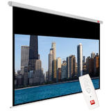 Avtek Video Electric 200 (projection area 195x146cm; 4:3; Matt-White; black borders)