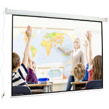 Avtek Wall Electric 240 (projection area 240x180cm; 4:3; Matt-White; black borders)