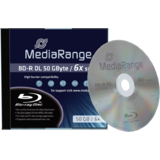 MediaRange  BD-R DL 50GB 6x JC
