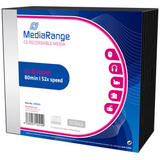 MediaRange CD-R 700MB|80min 52x speed, Slimcase Pack 10