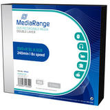 MediaRange DVD+R Double Layer 8,5GB 8x Slimcase Pack5