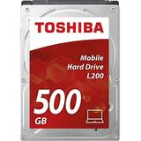 L200, 500GB, SATA-III, 5400 RPM, cache 8MB, 9.5 mm Bulk