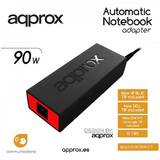 90W POWER AUT. NOTEBOOK ADAPTER 10 TIPS BK