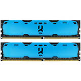 IRDM Blue 16GB DDR4 2400MHz CL15 1.2v Dual Channel