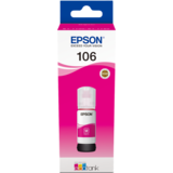 MAGENTA C13T00R340 ORIGINAL EPSON 106 ECOTANK INK BOTTLE