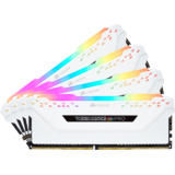 Memorie RAM Corsair Vengeance RGB PRO White 64GB DDR4 2666MHz CL16 Quad Channel Kit