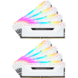 Memorie RAM Corsair Vengeance RGB PRO White 128GB DDR4 3200MHz CL16 1.35v Quad Channel Kit