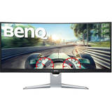 Monitor BenQ Gaming EX3501R Curbat 35 inch HDR 4 ms Gray FreeSync 100Hz USB C
