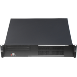 Gembird 19'' Rack-mount chassis (2U), black