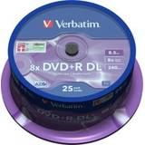 Verbatim DVD+R DL [ spindle 50 | 8,5GB | 8x | argintiu mat ]