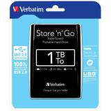 External HDD Verbatim Store 'n' Go 2.5'' GEN 2, 500GB, USB 3.0, Black