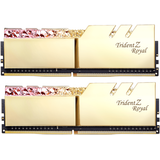 Memorie RAM G.Skill Trident Z Royal RGB Gold 16GB DDR4 4600MHz CL18 1.45v Dual Channel Kit