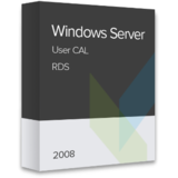 Windows Server 2008 RDS User CAL, OLP NL