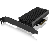 IcyBox M.2 M-Key socket for one M.2 NVMe SSD