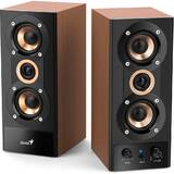 2.0, RMS: 20W (2 x 10W), amplificare integrata, black&cherry wood