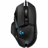 Mouse Gaming LOGITECH G502, RGB LED, USB, Black
