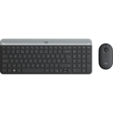 MK470 - Tastatura, USB, Layout US, Graphite + Mouse Optic, USB, Graphite