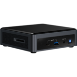 Sistem Mini Intel (NUC) Next Unit of Computing BXNUC10I7FNKPA2, Core i7-10710U 1.1GHz, 8GB DDR4, 256GB SSD, UHD Graphics, Wi-Fi, Bluetooth, HDMI, Win 10