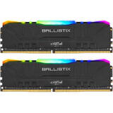 Memorie RAM Crucial Ballistix Black RGB 32GB DDR4 3200MHz CL16 Dual Channel Kit