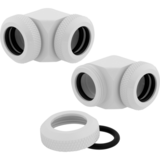 Modding Corsair Hydro X Series XF Hardline 90* 12mm OD Fitting Twin Pack - White