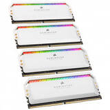 Memorie RAM Corsair Dominator Platinum RGB White 32GB DDR4 4000MHz CL19 Quad Channel Kit