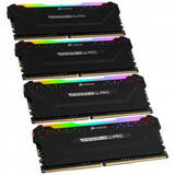 Memorie RAM Corsair Vengeance RGB PRO 128GB DDR4 3600MHz CL18 Quad Channel Kit