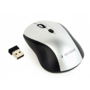 Mouse Gembird MUSW-4B-02 Black-Silver