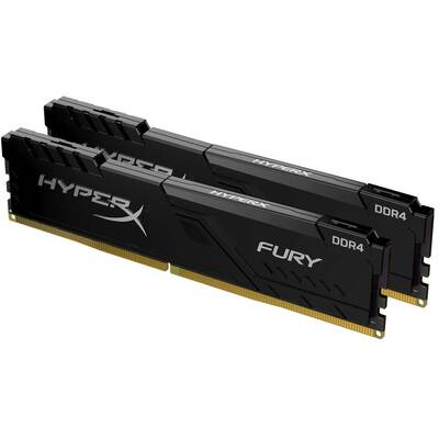 Memorie RAM Kingston HyperX Fury Black 32GB DDR4 2400MHz CL15 Dual Channel Kit