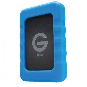 SSD G-Technology G-Drive ev RaW 2TB USB 3.0 Black/Blue