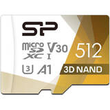 Card de Memorie SILICON-POWER Superior Pro Micro SDXC 512GB UHS-I U3 V30 + adaptor