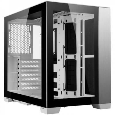 Carcasa Lian Li O11 Dynamic Mini, Midi-Tower, Tempered Glass - White