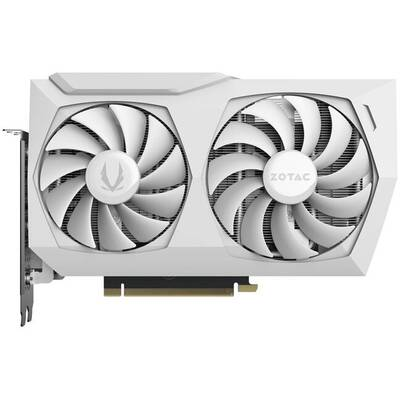 Placa Video ZOTAC GeForce RTX 3060 AMP White Edition 12GB GDDR6 192-bit