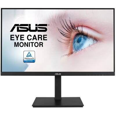 Monitor Asus VA27DQSB 27inch WLED/IPS Eye Care FHD 1920x1080 16:9 Frameless 75Hz 5ms 1xDP 1xHDMI Black